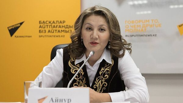 Айнур Ногаева - Sputnik Грузия