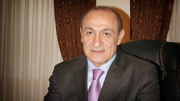 Посол Армении в Грузии, легендарный штангист Юрий Варданян - Sputnik Грузия