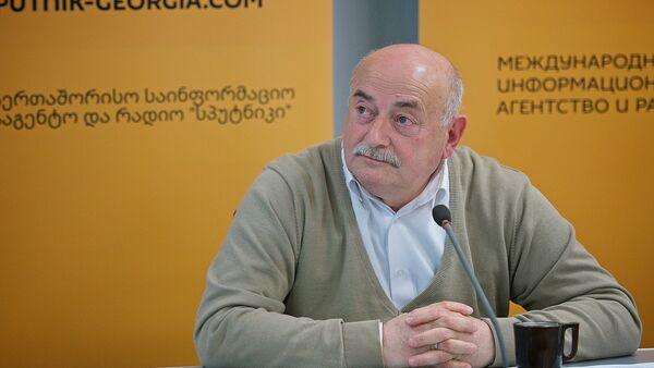 Грузинский эксперт Нико Кварацхелия - Sputnik Грузия
