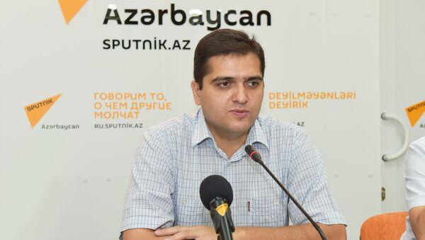Эльхан Шахиноглу, политолог, руководитель аналитического центра Атлас  - Sputnik Грузия