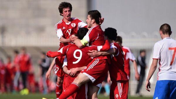 Сборная Грузии по футболу U-19 - Sputnik Грузия