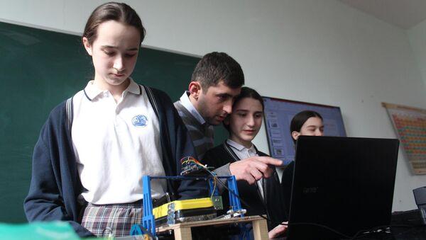 Команда грузинских школьников Smart Kids - Sputnik Грузия