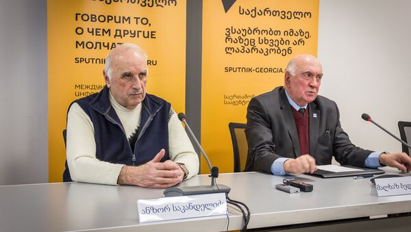 სამშენებლო ექსპერტების პრესკონფერენცია თბილისში - Sputnik საქართველო