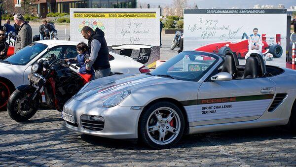 Любители Porsche поддержали проведение гонок TCR 2017 в Грузии - Sputnik Грузия