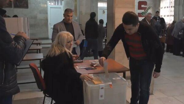 Избирательный участок. Голосование. Выборы - Sputnik Грузия