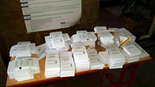 Избирательные бюллетени - Sputnik Грузия