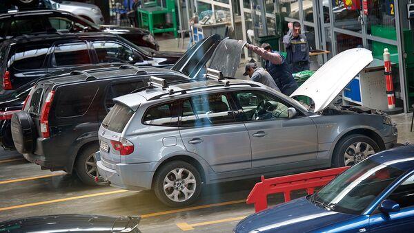მანქანები რემონტზე  Tegeta Motors-ში - Sputnik საქართველო