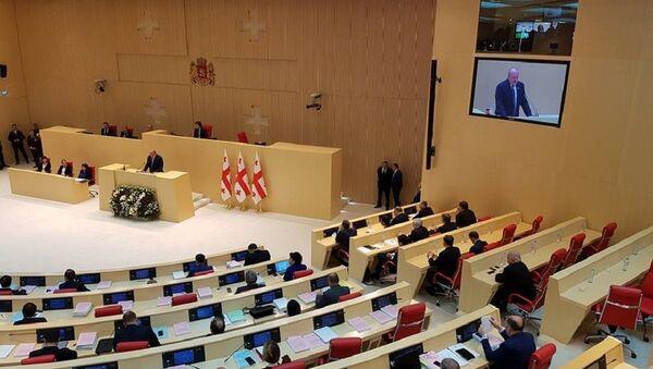 Президент Грузии Георгий Маргвелашвили выступил в парламенте  - Sputnik Грузия