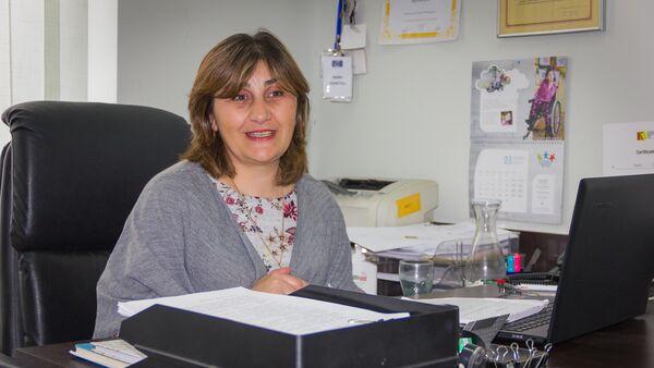 ჯანდაცვის მინისტრის მოადგილე მაია ბუჩუკური - Sputnik საქართველო
