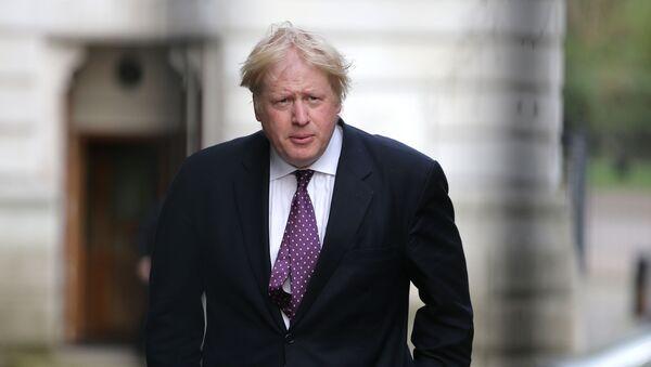 დიდი ბრიტანეთის საგარეო საქმეთა მინისტრი ბორის ჯონსონი - Sputnik საქართველო