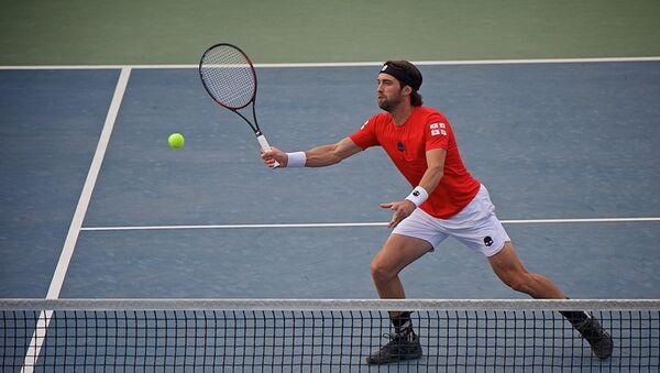 Грузинский теннисист Николоз Басилашвили - Sputnik Грузия