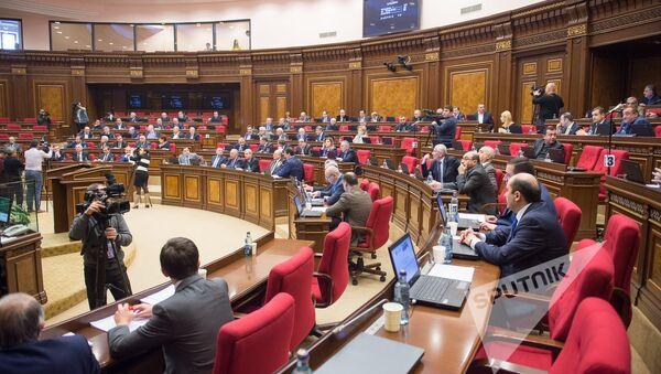 Заседание Национального Собрания РА - Sputnik Грузия