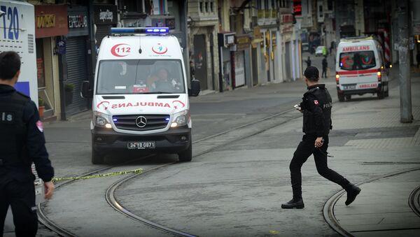 Машины Скорой помощи в Стамбуле - Sputnik Грузия