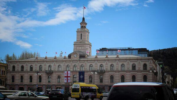 Здание городского совета - Сакребуло Тбилиси - Sputnik Грузия