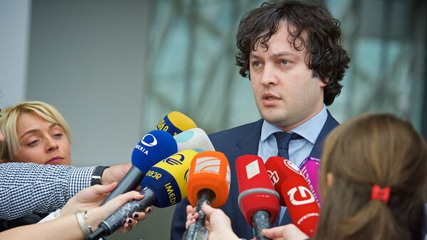 Председатель парламента Грузии Ираклий Кобахидзе - Sputnik საქართველო