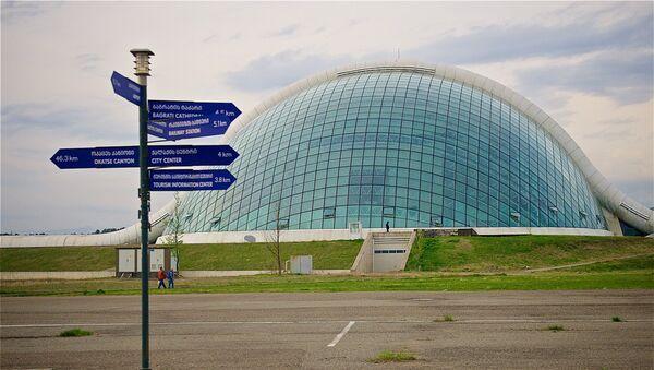 Здание парламента Грузии в Кутаиси - Sputnik Грузия