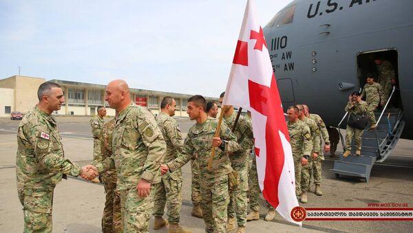 """საქართველოს შეიარაღებული ძალების I ქვეითი ბრიგადის მე-11 ბატალიონის """"ალფა"""" ასეული - Sputnik საქართველო"""