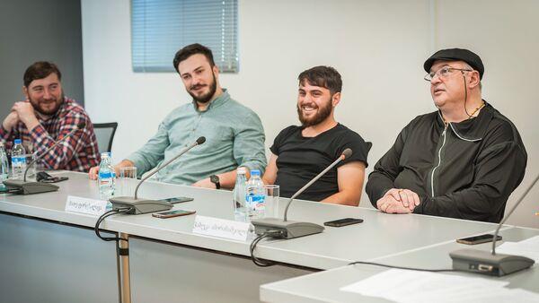 Пресс-конференция группы Bani - Sputnik Грузия