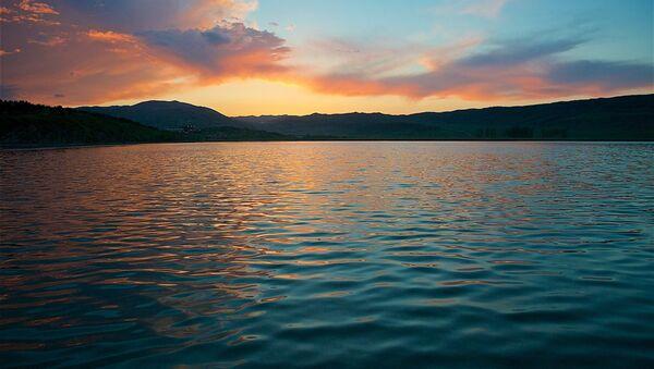 Озеро Лиси на закате - Sputnik Грузия