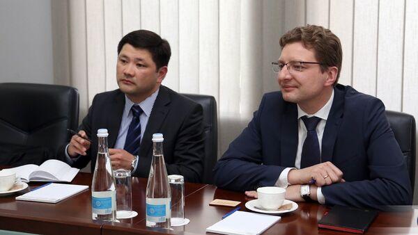 Айдар Ботагаров и Дайнюс Радзявичюс - Sputnik Грузия