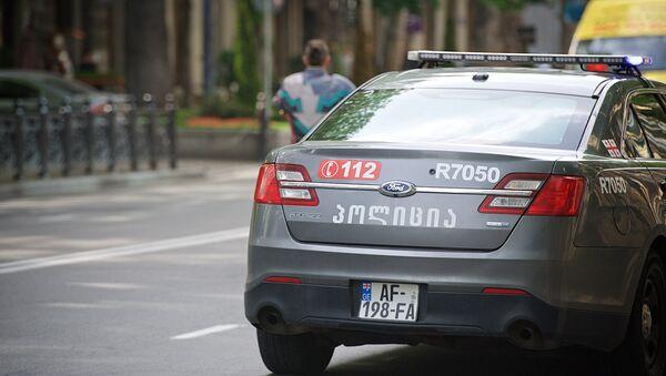 Патрульная полиция на улицах грузинской столицы - Sputnik Грузия