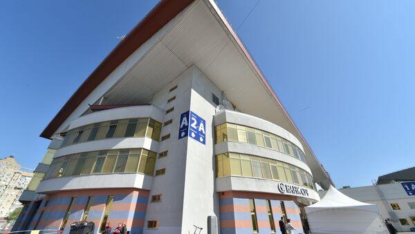 Международный выставочный центр в Киеве, в котором состоится Евровидение-2017 - Sputnik Грузия