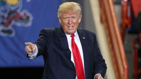Президент США Дональд Трамп - Sputnik Грузия