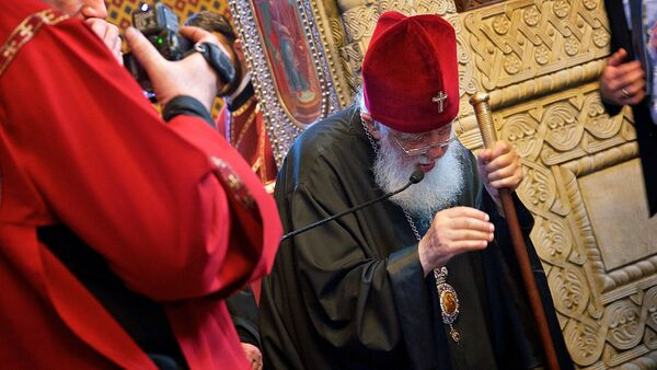 სრულიად საქართველოს კათოლიკოს-პატრიარქი ილია მეორე - Sputnik საქართველო