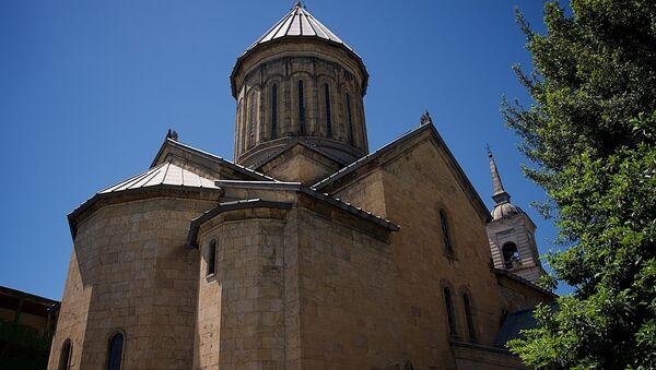 Кафедральный собор Сиони - Sputnik Грузия