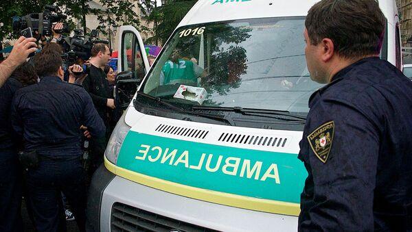 """საპატრულო პოლიცია და """"სასწრაფო დახმარების"""" ბრიგადა - Sputnik საქართველო"""