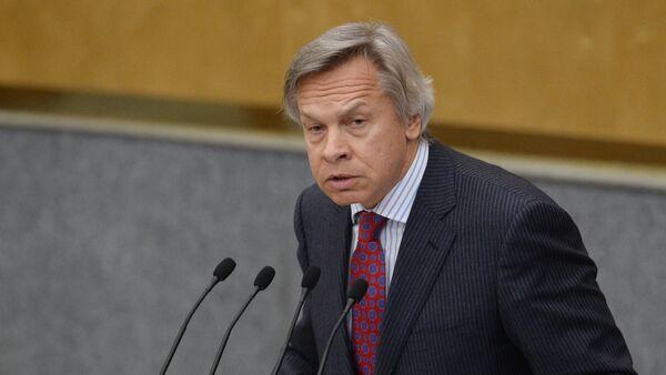 Российский сенатор Алексей Пушков - Sputnik Грузия