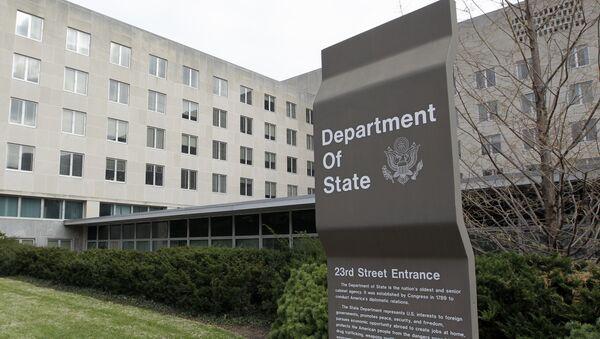 Государственный департамент в Вашингтоне, США - Sputnik Грузия