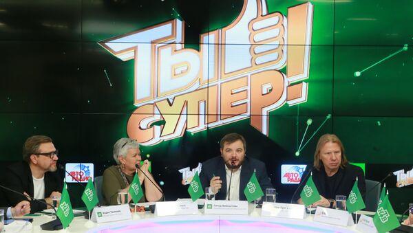 Пресс-конференция финалистов, членов жюри и организаторов шоу Ты-супер! - Sputnik Грузия