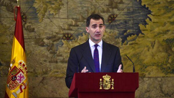 Король Испании Филипп VI - Sputnik Грузия