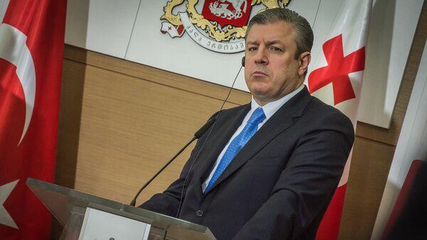 Премьер-министр Грузии Георгий Квирикашвили - Sputnik Грузия