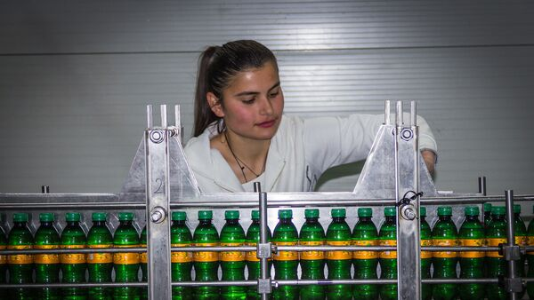 კომპანია Georgian Lemonade-ის ქარხანა - Sputnik საქართველო