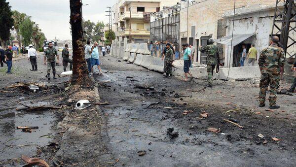 Разрушения в сирийском городе Хомс в результате боев с ИГ - Sputnik Грузия
