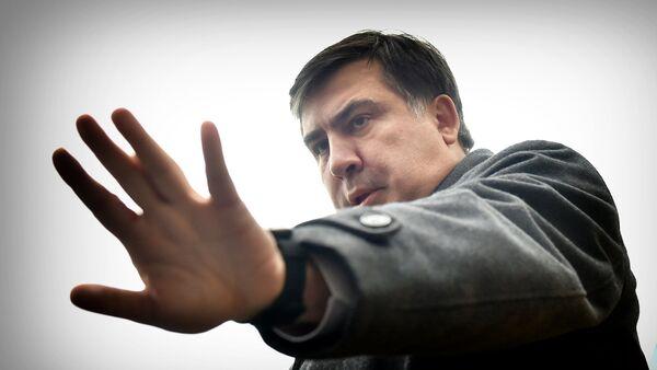 Бывший президент Грузии Михаил Саакашвили - Sputnik Грузия