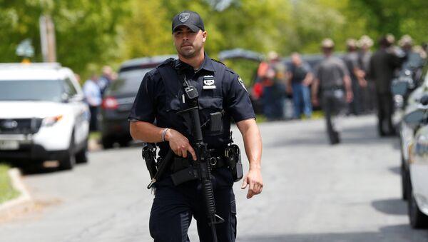 პოლიციის ოფიცერი ნიუ-იორკში - Sputnik საქართველო