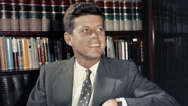 Президент США Джон Кеннеди в Вашингтоне - Sputnik Грузия