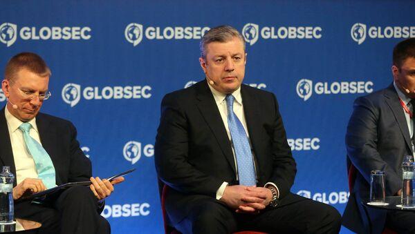 Премьер Грузии Георгий Квирикашвили на форуме GLOBEC - Sputnik Грузия