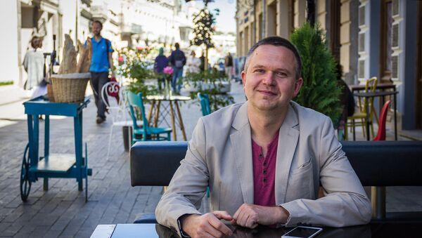 Бизнесмен из Украины Владимир Холмогоров - Sputnik Грузия