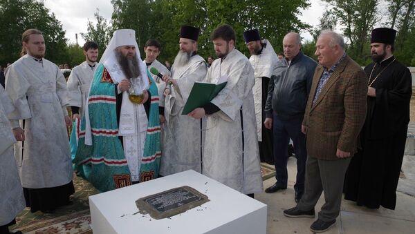 В Нижнем Новгороде заложили фундамент строительства храма в честь Святой Нино - Sputnik Грузия
