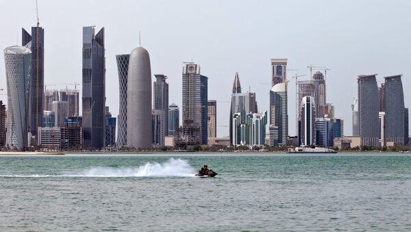 Вид на столицу Катара - город Доха - Sputnik Грузия