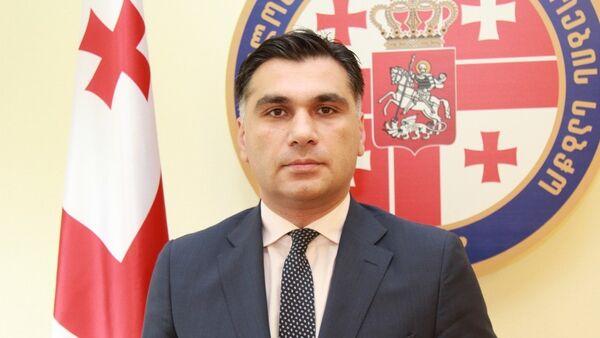 Будущий посол Грузии в Швейцарии Леван Бодзашвили - Sputnik Грузия