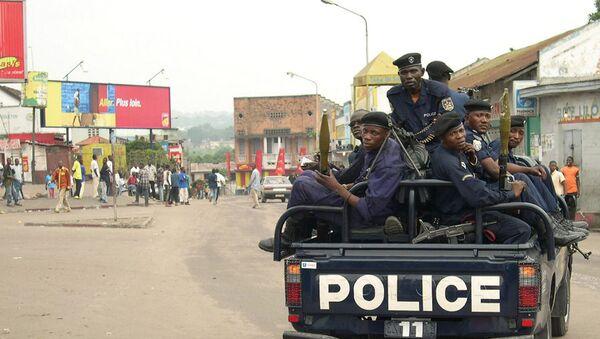 Полиция Конго. Архивные кадры - Sputnik Грузия