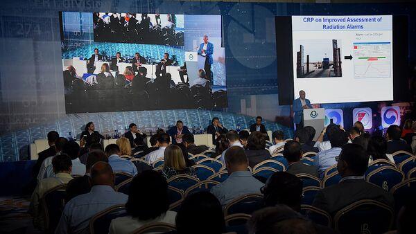 Участники международной конференции ВТО - Sputnik Грузия