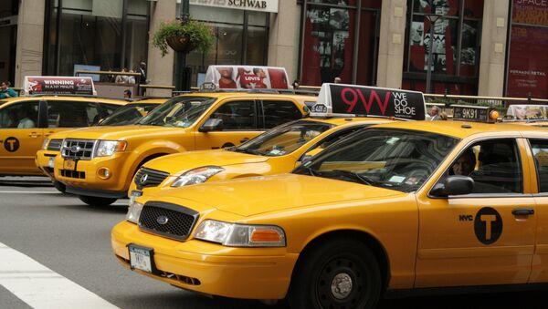 ტაქსი ნიუ-იორკში - Sputnik საქართველო