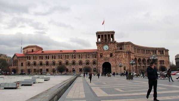 Площадь Республики. Ереван - Sputnik Грузия