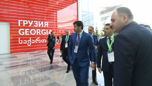 კახა კალაძე გამოფენაზე EXPO 2017 - Sputnik საქართველო